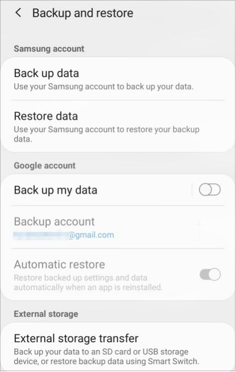 Switching, Android to iPhone, Transfer Data Types