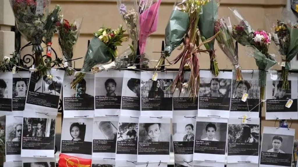 Myanmar's Death toll from brutal crackdowns