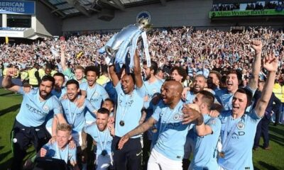 Manchester City win Premier League Title for a Third Time