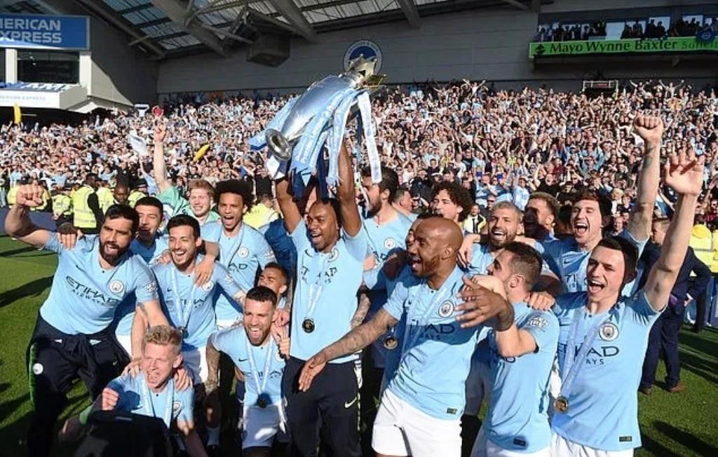 Manchester City win Premier League Title for a Third Time