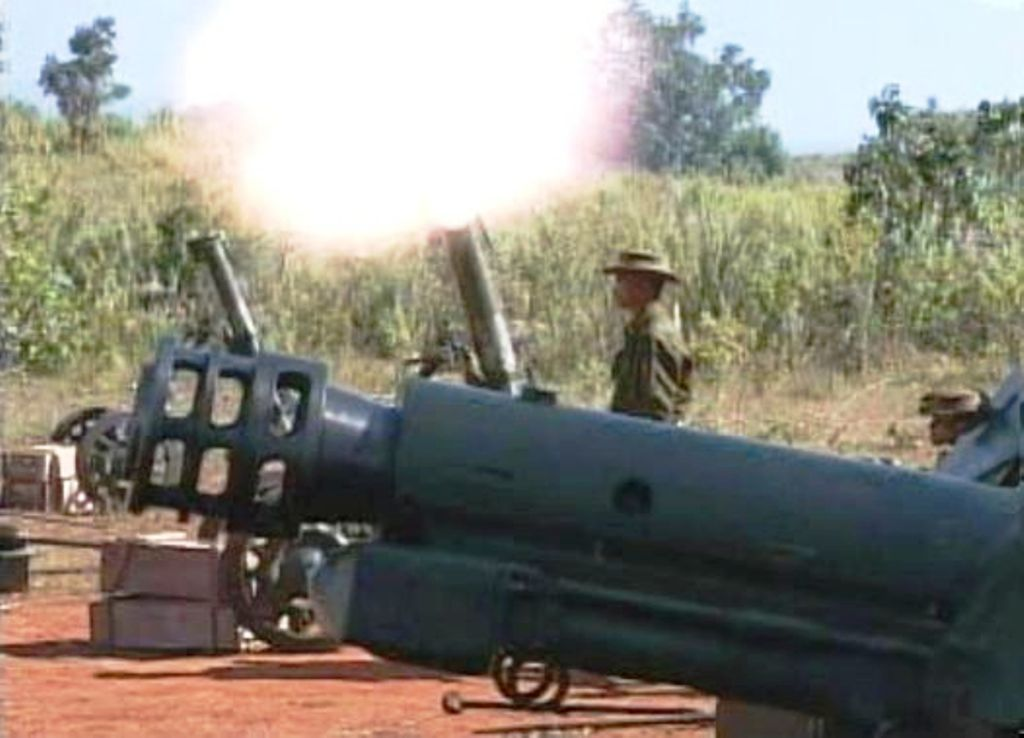 Myanmar Military Shells IDP Camps Along Thailand's Norther Borders