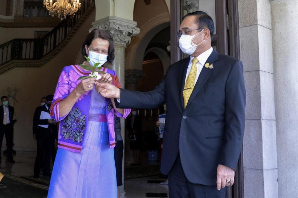 Christine Schraner Burgener, the UN special envoy on Myanmar