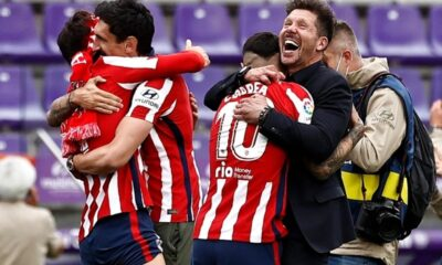 Atletico Madrid Win La Liga Title for the First Time Since 2014
