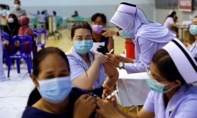 Bangkok Aims for Herd Immunity by Vaccinating 50,000 People Per Day