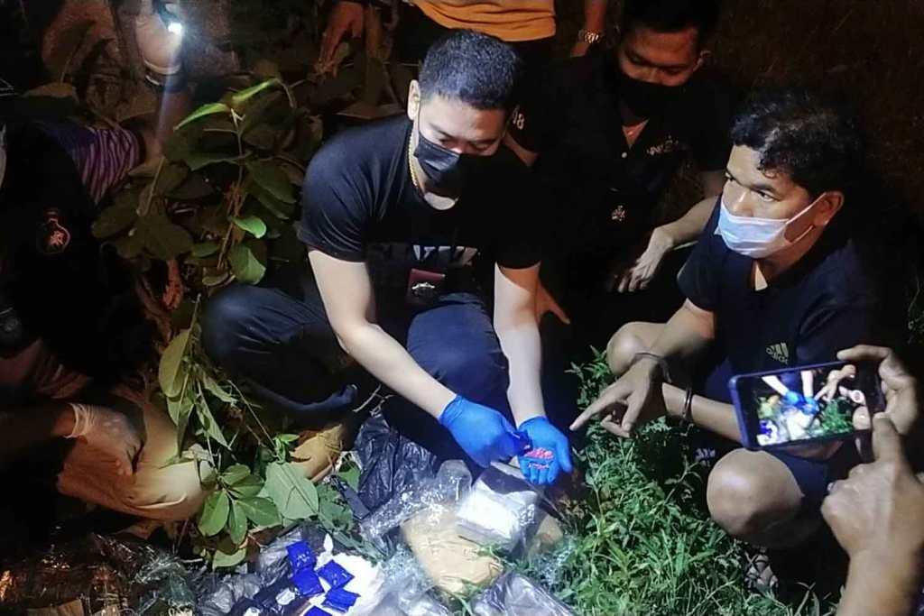 Border Patrol Busts Drug Runner with Cache of Methamphetamine