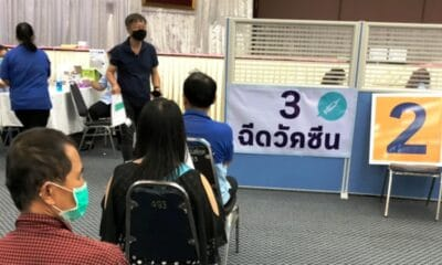 Chiang Mai Reports Extremely Low Registration for Covid-19 Vaccinations