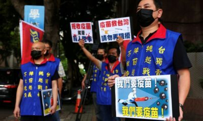 China Accused of Preventing Taiwan from Getting Covid-19 Vaccines
