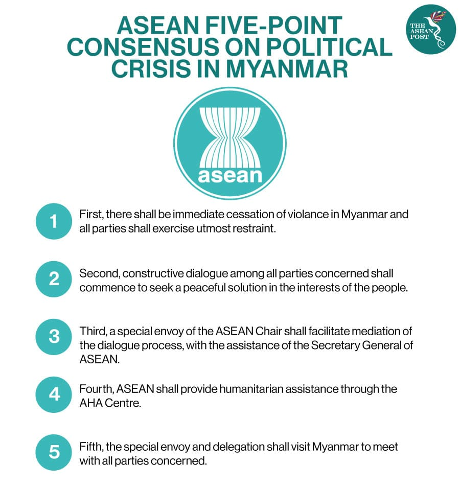 asean 5 point consensus