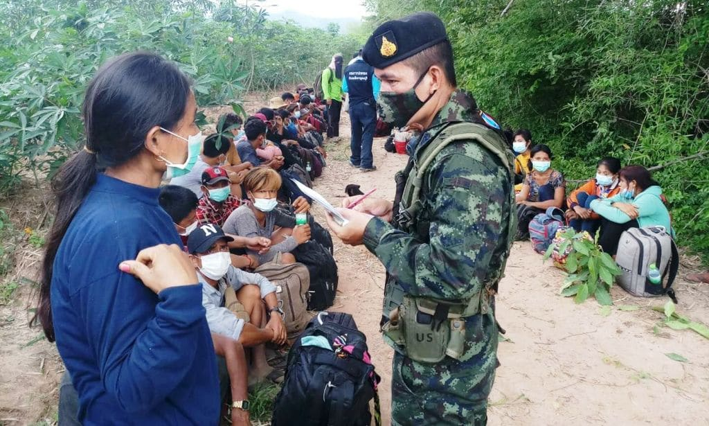 Covid-19 Fears Rise as Thai Border Officials Struggle to Stop Illegals