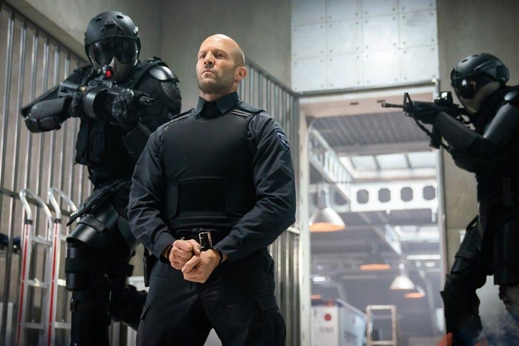 Hollywood action star Jason Statham, wrath of man
