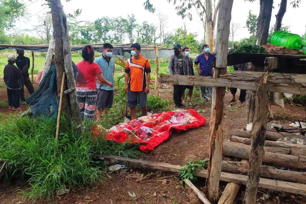 Man Stuck and Killed by Lightening Blot in Northeastern Thailand