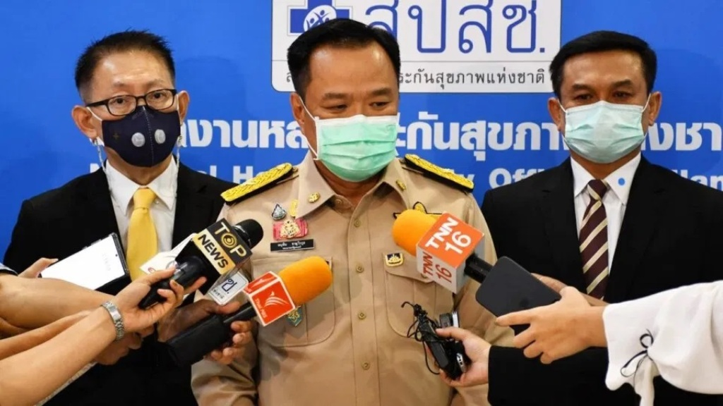Thailand Health Minister Says Public Cannot Choose their Covid-19 Vaccine