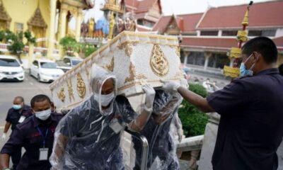 Thai Health Officials Reports 3,394 new COVID-19 Cases, 29 Deaths