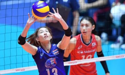 Thailand Women's National Volleyball Team Loses to South Korea 3-1