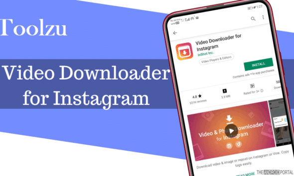 Toolzu, video downloader, Instagram, android phone