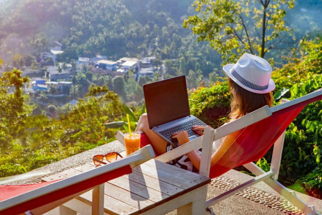 People Choosing the Work from Home Life Flocking to Chiang Rai