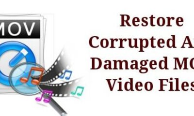 Steps on How to Repair Damaged MOV Video File