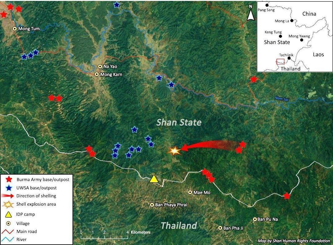 Myanmar, Military, norther Thailand, border
