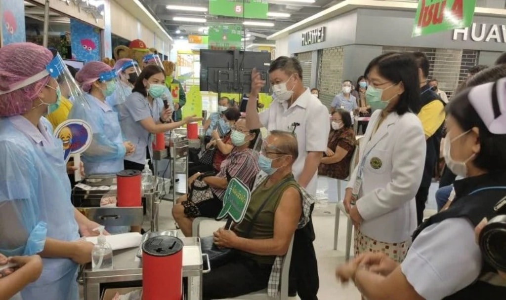 Covid-19 Vaccination Program Kicks Off in Chiang Rai, Thailand
