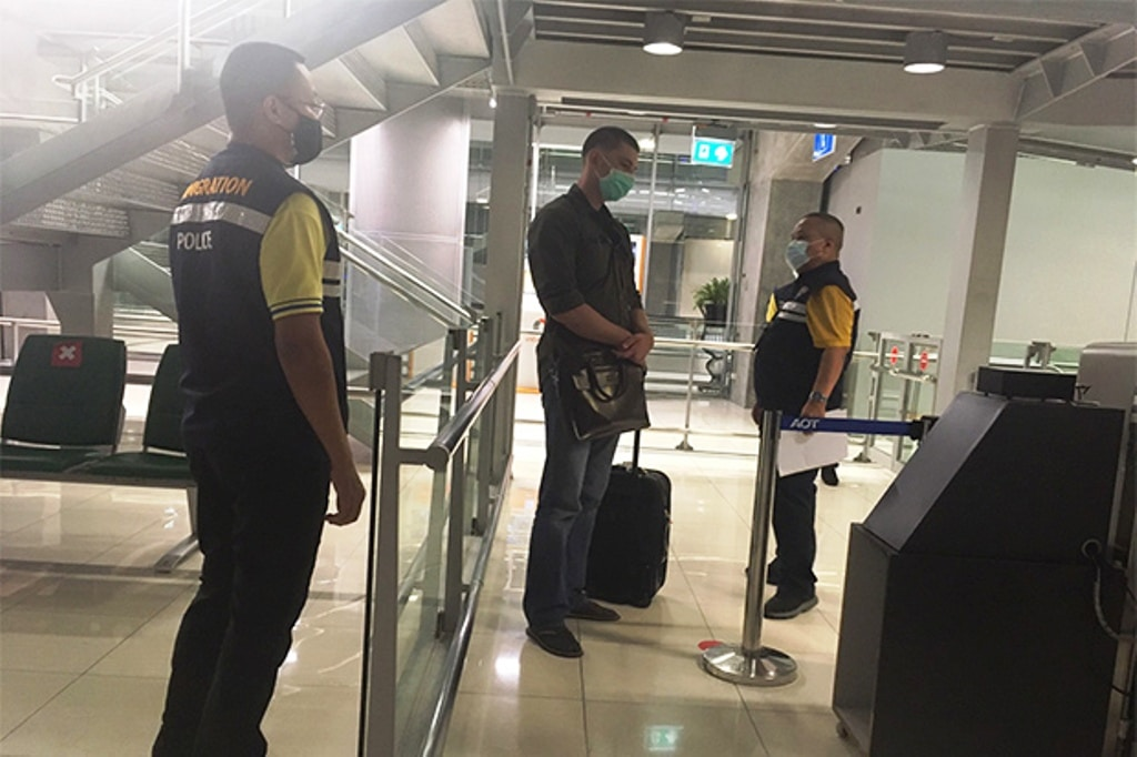 American Wanted for Kidnapping Arrested at Suvarnabhumi Airport