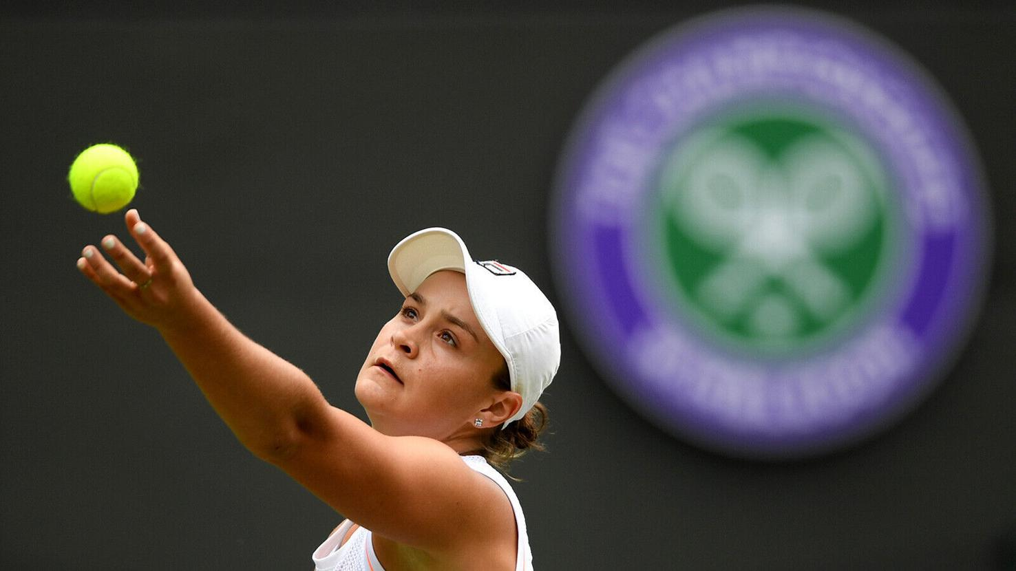 Ashleigh Barty will be looking to claim her second grand slam title.