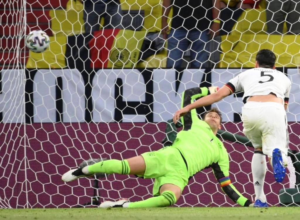 France, Germany's Hummels Scores on His Own Goal Giving France the Win