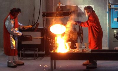 Learning About a Steel Casting Foundry Where Metals are Cast From