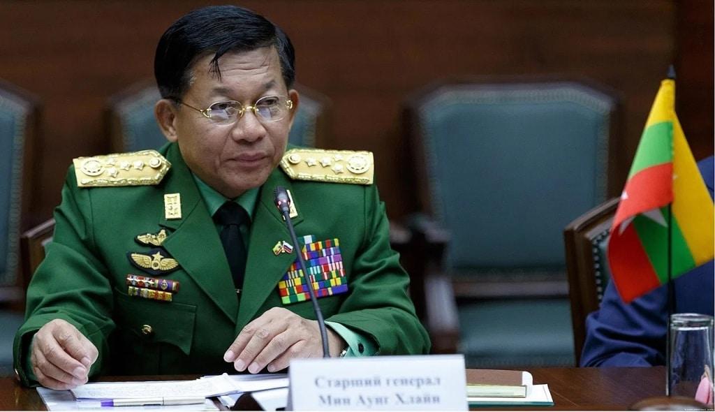 Myanmar's Junta Leader Gen Min Scoffs at ASEAN's Consensus