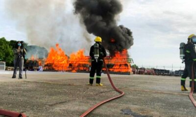 Narcotics Authorities in Myanmar Torch US$670 Million of Seized Drugs