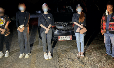 Police Arrest Smuggler and Thai Citizens Crossing into Chiang Rai Illegally