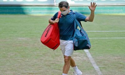 Roger Federer Crashes Out In Second Round At Halle As Wimbledon Looms