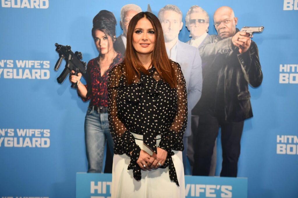 Salma Hayek Back As Red Hot Latina in 'Hired Gunman's Wife's Bodyguard'