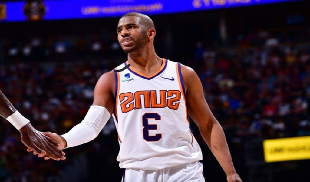 Phoenix Suns' Chris Paul Enters NBA's COVID-19 Health and Safety Protocols