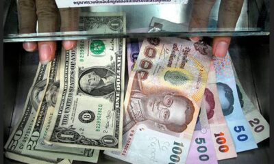 Thai Baht Falls to Its Lowest Rate Against the US Dollar in 10 Months