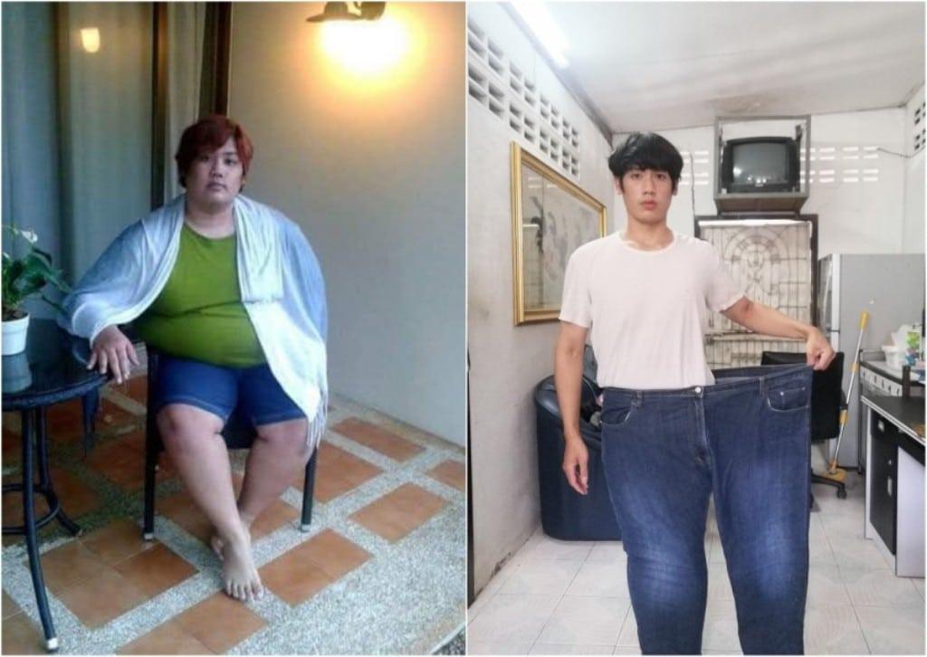 Thai Mans Self Weight Loss Program Diet Plan Goes Viral on Social Media