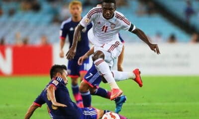 Thailand's War Elephants Lose to UAE at World Cup Qualifiers