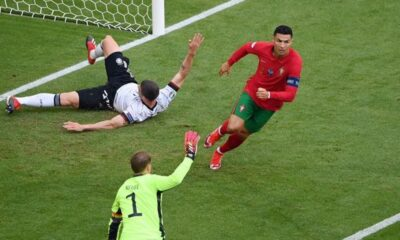 Group F,UEFA Euro 2020 Match Between Portugal vs France Ends in 2-2 Draw