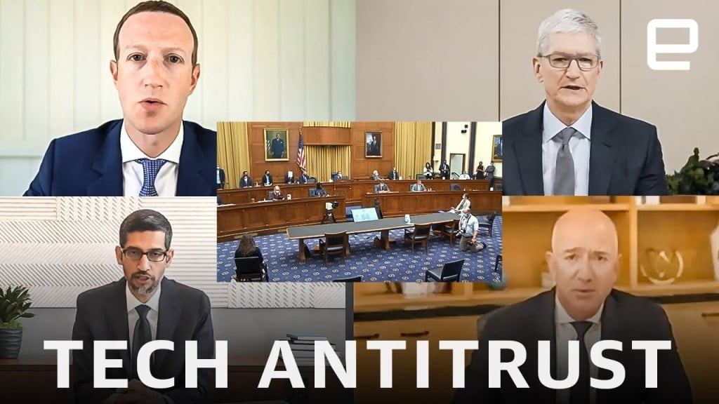 antitrust, US Lawmakers Introduce Legislation to Breakup the Big Tech Companies