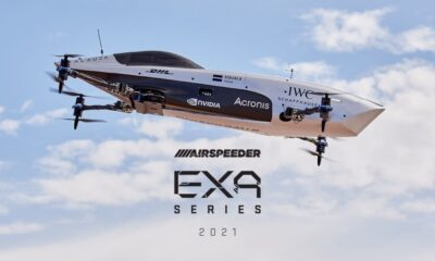 Worlds First Racing Series Electric Flying Car Takes Historic Flight
