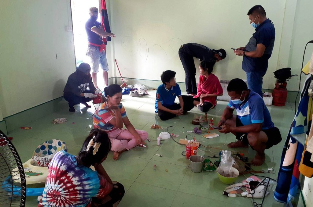 police, drug, chemical, thailand,