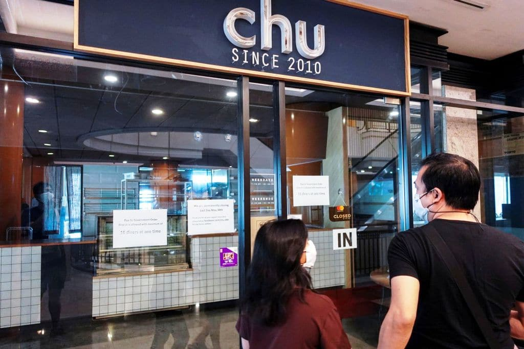 Thai Governments Covid-19 Curbs Shutters Thousands of Restaurants