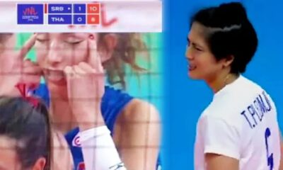 Serbian Volleyball Player Sorry for Racist Gesture Towards Thai Team