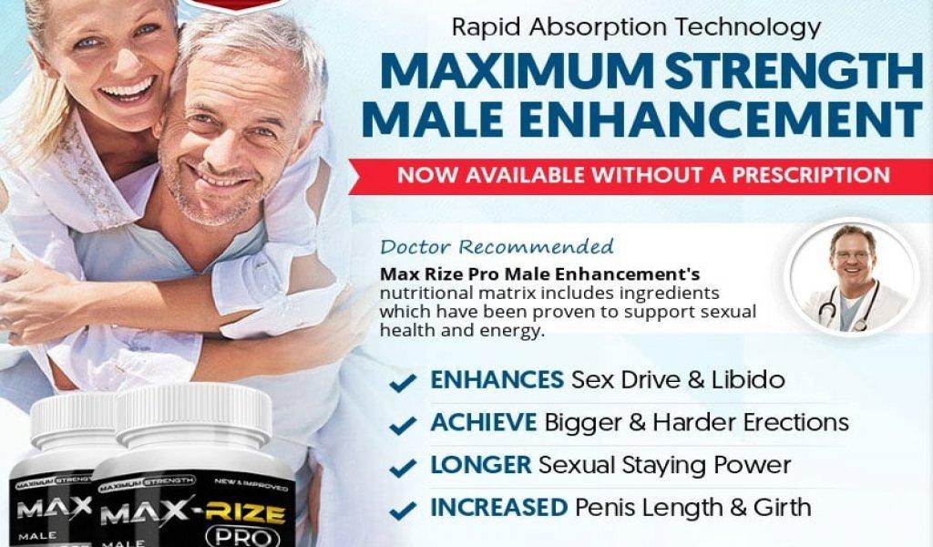 Max Rize Pro Male Enhancement Pills