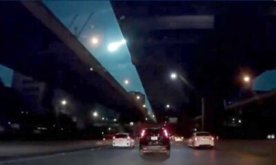 Northern Thailand Experiences Explosion and Glow of Bright Meteor