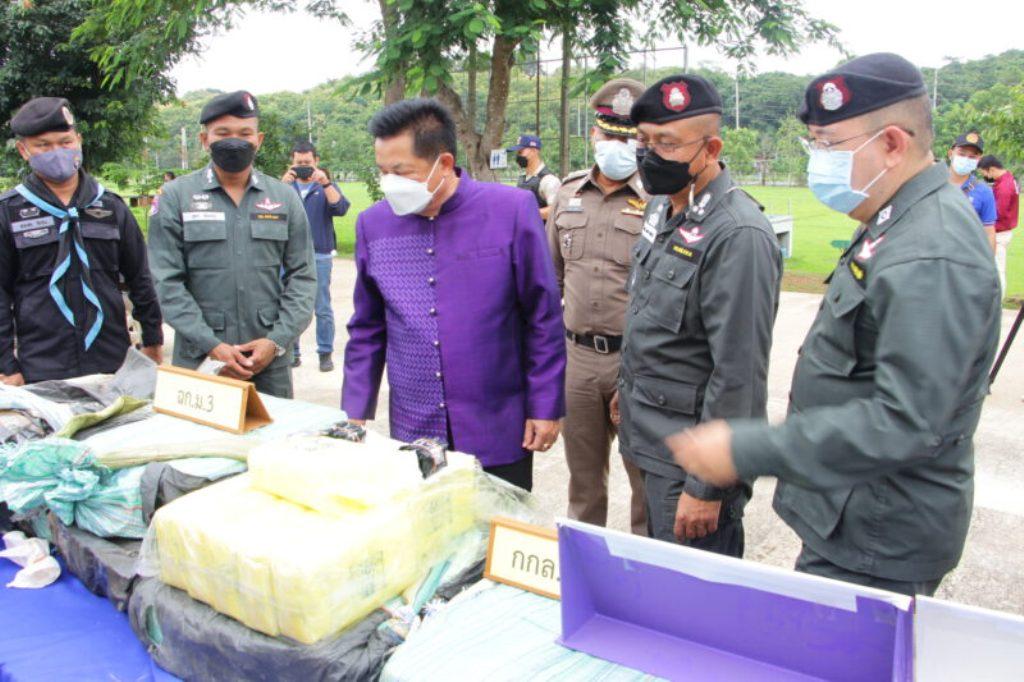 police, chiang rai, drugs