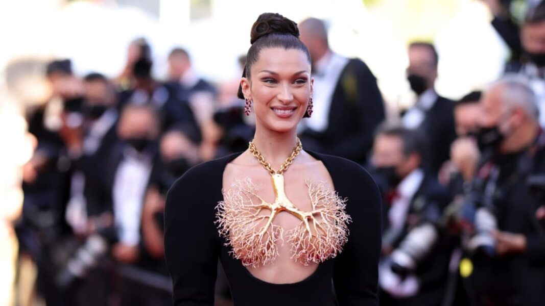 Bella Hadid and The 'Lung Necklace' That had Everyone at Cannes Talking About — PHOTOS