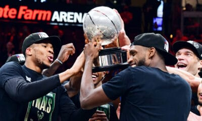 Bucks hope Giannis Antetokounmpo can return for The Finals