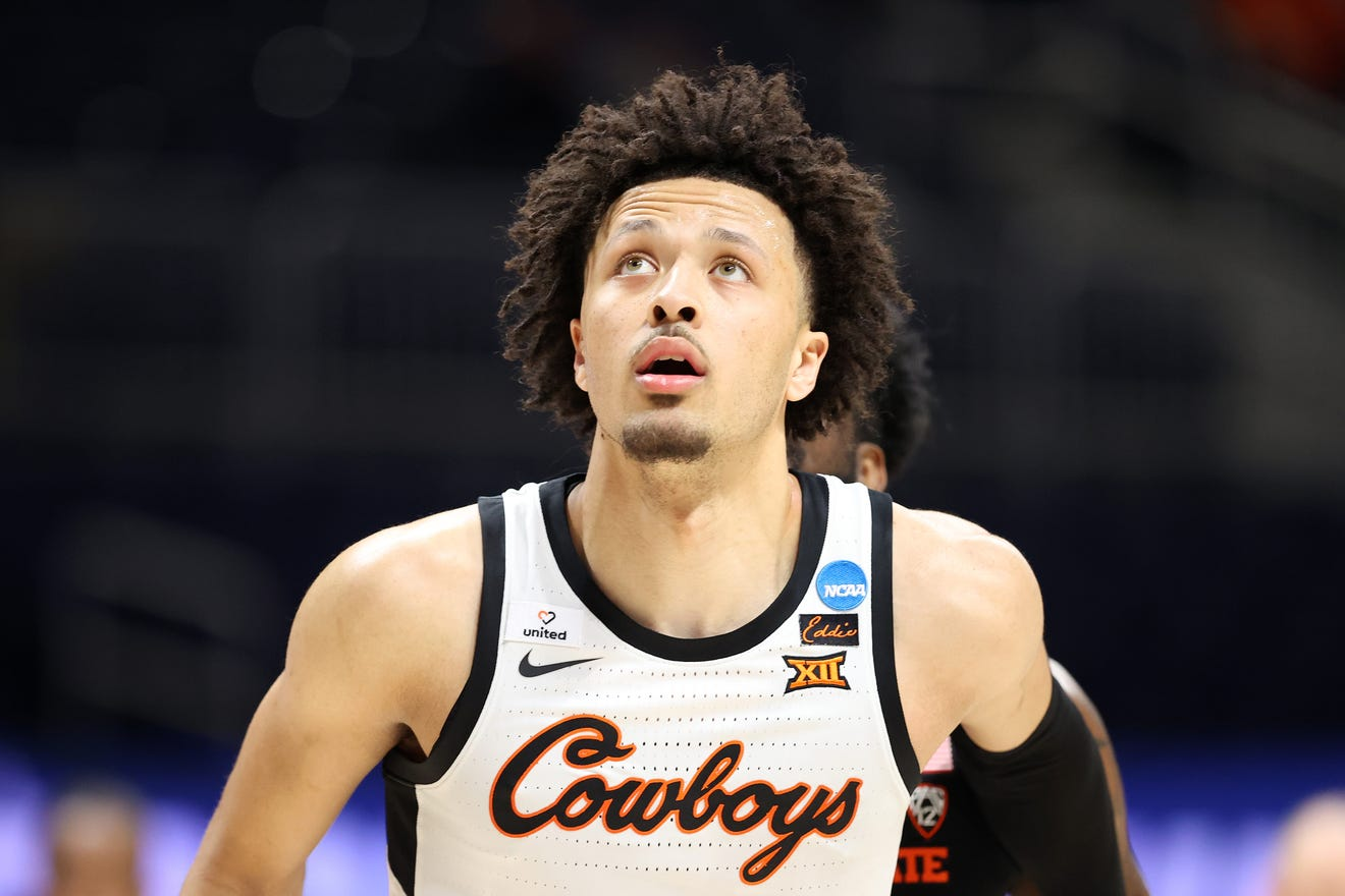 Cade Cunningham of the Oklahoma State Cowboys is projected to be the No. 1 overall pick in the 2021 NBA Draft.