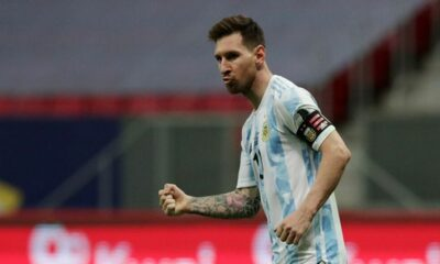 Copa America: Argentina's Lionel Messi Tells Yerry Mina to 'Dance now' Following Shootout Win