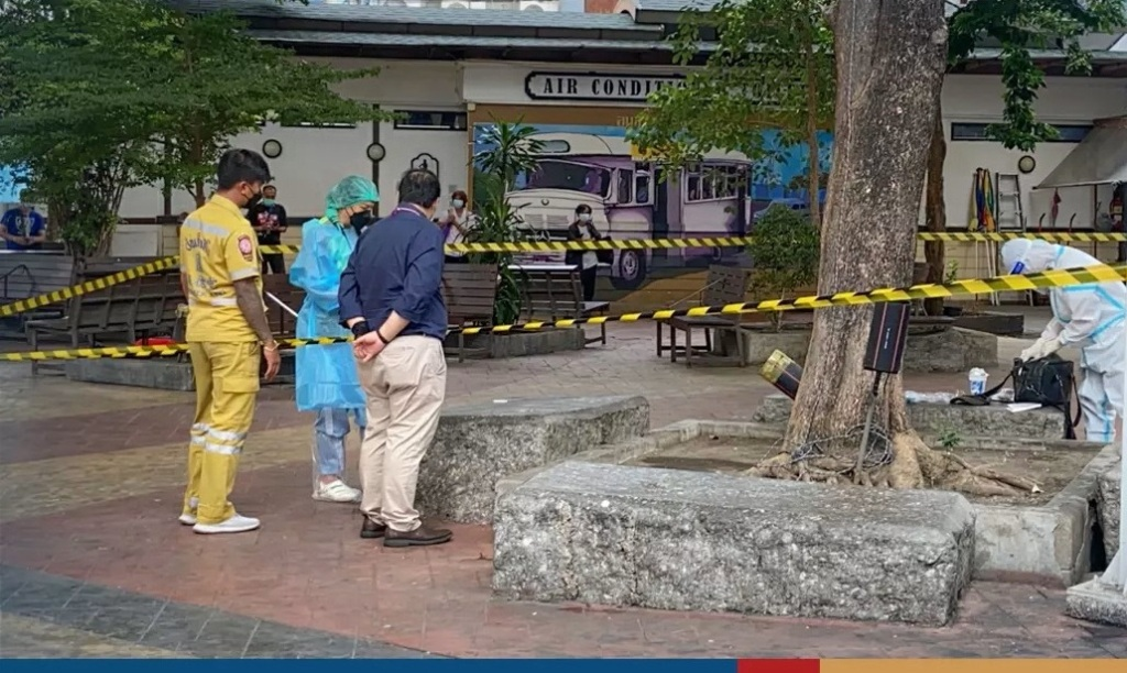 Elderly Man Infected with Covid Found Dead on Bangkok Street